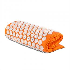 Relax Acupressure Mat 70 x 40 cm Orange Orange