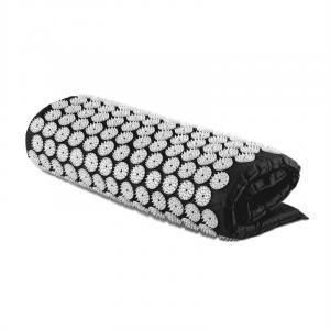 Eraser Esterilla yantra para masaje y acupresión 80x50cm Negro Negro