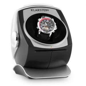 Senna Automatic Watch Winder Right-Left Run Black Black