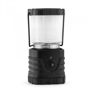 Yeridanus retkeilylamppu LED 400 lumen kulmikas musta musta