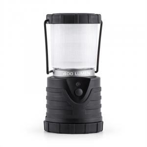 Yandromeda Lanterna da Campeggio LED 400 Lumen Tonda Nera