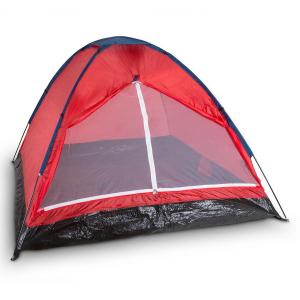 Cenote 3 Camping Tent Dome Tent 3 Persons Polyester Orange Red