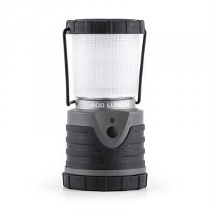 Yaquila retkeilylamppu LED 400 lumen pyöreä harmaa