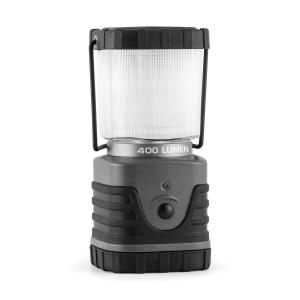 Yequuleus campinglykta LED 600 Lumen kantig, grå Grå
