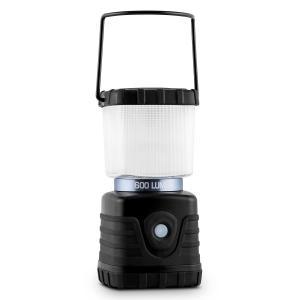 Yequuleus campinglykta LED 600 Lumen kantig, svart