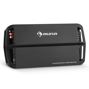 AMP490BK 4-Channel Car Amplifier 360W Class A / B Amplifier Remote Control