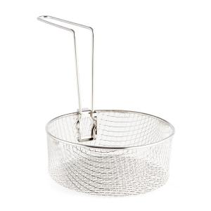 Frying Basket for Deep Fryers & Multi Cooker 1.5L 17x6.5 cm Handle Steel