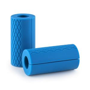 Rubber Grips For Barbells / Olympic Bars Blue Blue