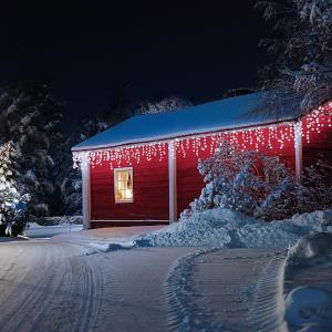 Dreamhouse Corrente de Luzes 24 m 480 LEDs Branco Frio Snow Motion cold_white | 24 m