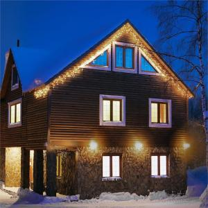Dreamhouse Flash Lichterkette 8m 160 LED warmweiß Flash Motion Warmweiß | 8 m
