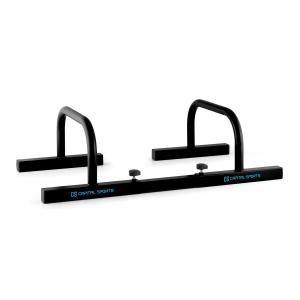 Paralo Parallettes Pair Black Black