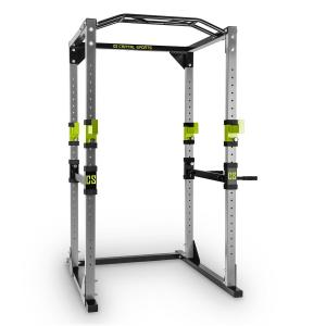 Tremendour Power Rack Home Gym Steel Green Grey | Without lat pull