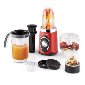 Fruizooka Mixer Smoothiemaker 4-in-1 multifunktionsenhet 220W röd Röd