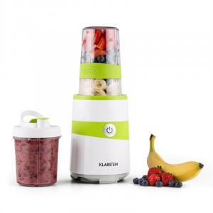 Vitalic Blender Smoothie Maker 1000W 1.3 HP 2 Blade Attachments White White