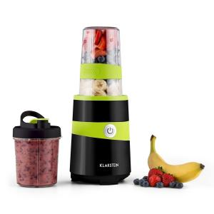 Vitalic Blender Smoothie Maker 1000W 1.3 HP 2 Blade Attachments Black Black