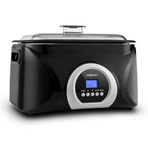 Sanssouci Sous-vide Sudderpan Slow Cooker 5 l 300 W zwart/zilver