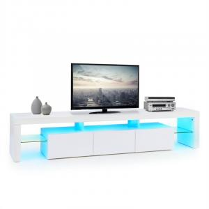 Quentin Lowboard TV Board LED Mood-lighting Colour Change White White