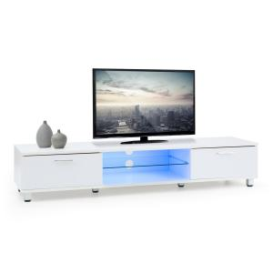 Keira Lowboard TV Board LED Colour Change White