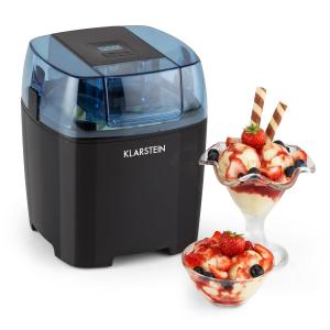 Creamberry Ice Cream Maker Bottle Cooler Frozen Yoghurt Machine 1.5l Black Black