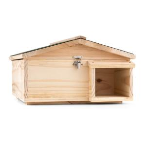 Stachelburg Hedgehog House Maze Entrance Feeding House Hardwood