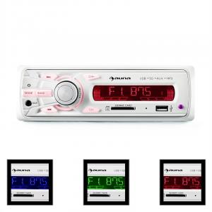 MD-120.2WH Autoradio USB SD MP3 4x75W max. Line-Out
