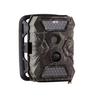 GRIZZLY Mini caméra embarquée 40 LEDs 12 MP Full HD USB SD sans GSM