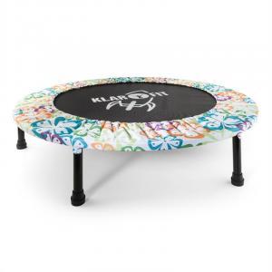 Rocketbaby 4 trampolina powierzchnia do skakania 96 cm kwiatowe wzory łta