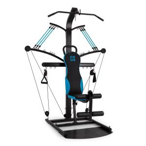 Hawser Máquina de entrenamiento negra/azul Acero Negro