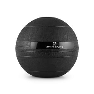 Groundcracker slamball bola de borracha preta com 6 kg 6 kg