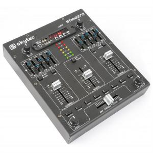 STM-2270 4-kanalen-mixer bluetooth USB SD MP3 FX