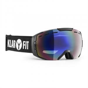 Snow View Óculos de Snowboard Camada Armação Preta