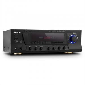 AMP-3800 USB 5.1-kanal-surround-receiver 600W max. USB SD FM svart