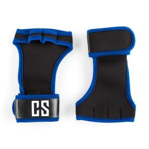 Palm Pro gewichthef handschoenen maat M zwart/blauw