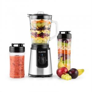 Shiva tehosekoitin mini smoothiekone 0,8 l 350 W BPA-vapaa musta musta