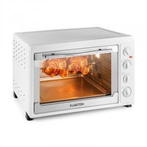 MasterChef 60 Mini Oven 2500W 60 Litre Stainless Steel White White