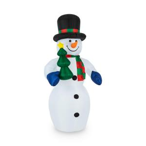Mr. Frost Illuminated Self-Inflating Snowman 240 cm