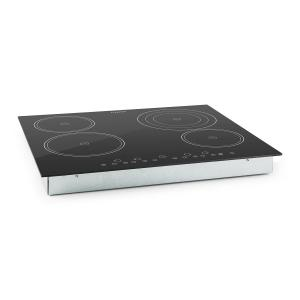 Virtuosa Ceramic Glass Hob Built-in Oven Cooker 6500W 59x52cm