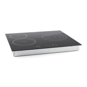 Virtuosa Ceramic Glass Hob Built-in Oven Cooker 5300W 59x52cm