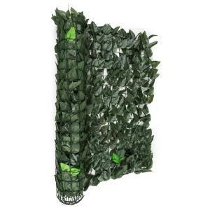 Fency Dark Leaf valla de protección visual y anti viento 300x150 cm ve dark_green | 150_cm_leaf