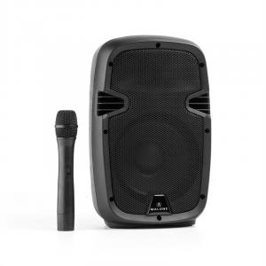 "Bushfunk 20 Altoparlante PA Attivo 400W Bluetooth Batteria USB SD MP3 VHF 20 cm (8"")"