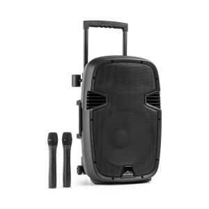 "Bushfunk 30 Active PA Speaker 700W Bluetooth USB SD MP3 VHF 30 cm (12"")"