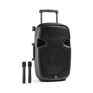 "Bushfunk 45 Active PA Speaker 900W Bluetooth USB SD MP3 VHF 38 cm (15"")"