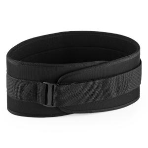 Rugg Weightlifting Belts Velcro Ultralight Size L Black L