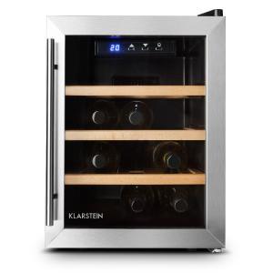 Reserva 12 Uno Wine Cellar 12 Bottles 33 Litre Stainless Steel LED