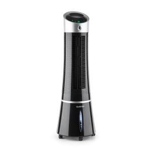 Klarstein Skyscraper Ice 4-in-1 Fan Air Cooler Air Humidifier 6 Litres Black
