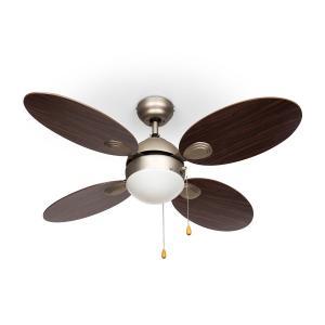 "Valderama Ceiling Fan 42"" 60W Ceiling Lamp 2 x 43W Rosewood Rosewood"