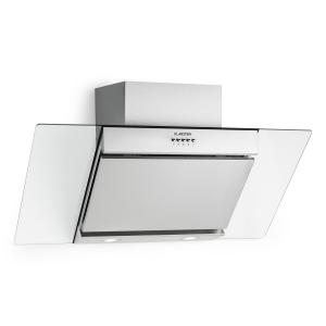 Zola Extractor Hood Air Purifier Stainless Steel 90cm Wall Mounting 635m³/h Glass Silver
