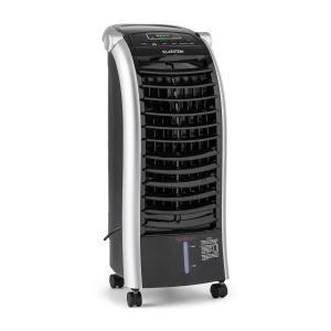 Maxfresh 3-in-1 Luftkühler Ventilator Luftbefeuchter 444m³/h | 55 Watt | 6 Liter | 51 dB | 3 Geschwindigkeiten | Oszillation | Fernbedienung | mobil Schwarz