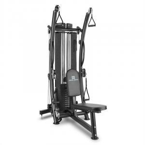 Puissantor B15 Máquina de Musculação Polia Multiusos Ginásio em Casa 68kg (150 lb) Aço Preto