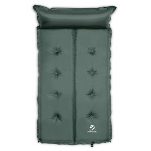 Goodbreak 5 Sleeping Mattress Double Airbed 5cm Thick Pillow Green 5 cm